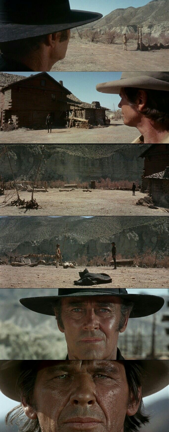 Once Upon A Time In West(1968). Directed by Sergio Leone.