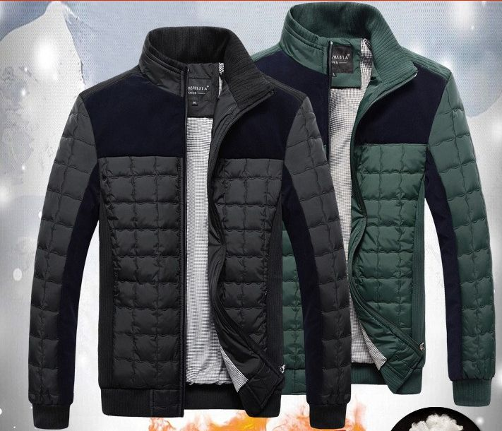 Jacket For Men Slim Warm Casual Cotton-Padded Men Coat Black Green— $65.00 (Save 23%!) Item Type:Outerwear & Coats Outerwear Type:Jackets Gender:Men Clothing Length:Regular Cuff Style:Conventio…