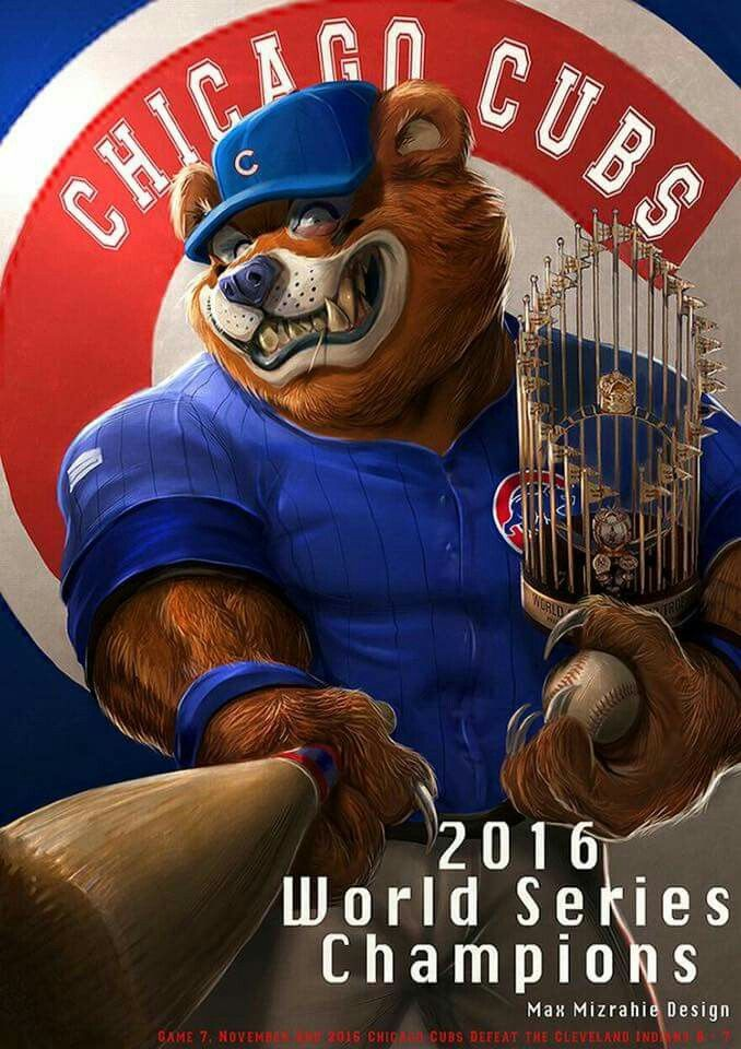 Chicago Cubs 2016 World Series Champions!!