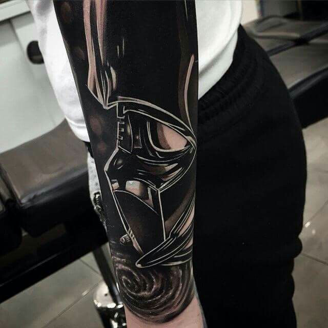 Star Wars sleeve...