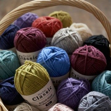 Blacker Classic Aran Knitting Yarn