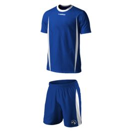 Soccer Gear -  Royal and white Soccer is the Nation's biggest sport. Inspired by the Italian's flair for design but developed for the South African environment, Acelli football wear, even in kiddies ranges, is a fusion of unique style, quality and modernism – all the elements demanded by today's player.