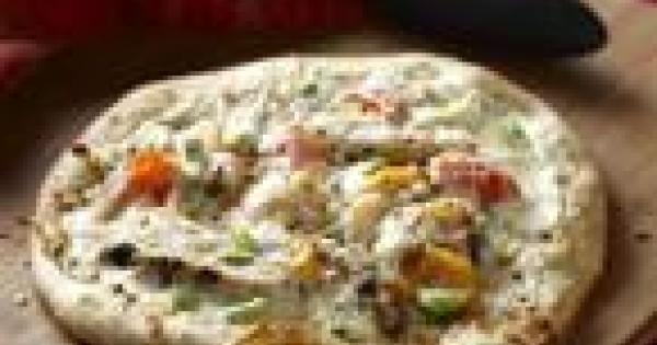 Pizza au poulet Alfredo   Bien Faire