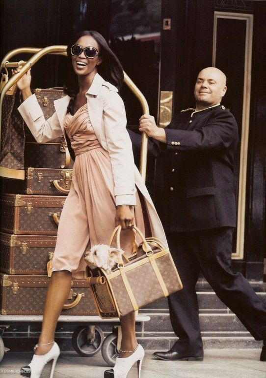 Naomi...the ultimate jetsetterGo Girls, Woman Fashion, Louis Vuitton, Travel Lights, Beautiful Places, Luggage Sets, Private Jet, Naomi Campbell, Glamorous Chic Life