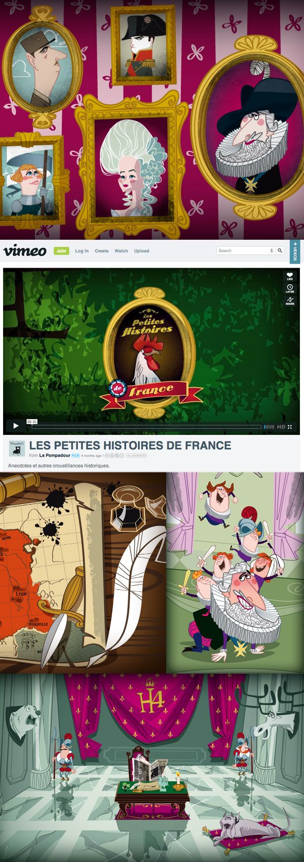 grems made illustrations for les petites histoires de france cartoon produced by la. Black Bedroom Furniture Sets. Home Design Ideas