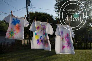 Sharpie Shirts - Enchanted Homeschooling Mom - Enchanted Homeschooling Mom