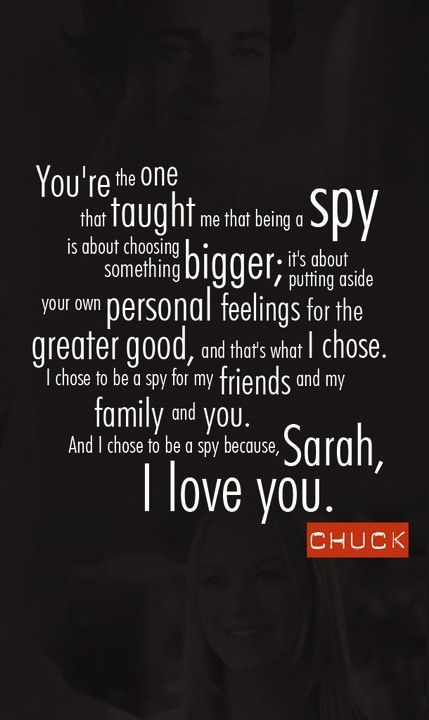 "Chuck & Sarah <3 Show Warner Bros that we want a Chuck Movie. Like the Official Facebook Page and start posting on the wall.  https://www.facebook.com/chuck  - Comment on the wall photos. (ex: #bringbackchuck ) - ""Like"" fellow Chuck followers comments!  Haven't seen the show yet? Chuck is now available to watch on Netflix. Rate Chuck Five Stars on Netflix  - Nerd Herder https://www.facebook.com/notes/nerd-herd-chuck-the-movie/"