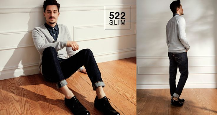 #jeansshop #jeansshopcom #levis #leviscollection #fallwinter14 #fw14 #shirt #denim #522 #slim