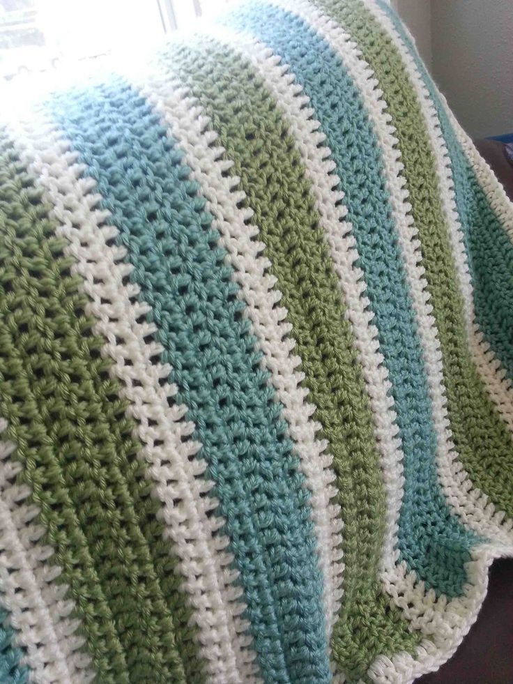 Ive received a lot of questions about my Crochet Granny Stripe Afghan Tutorial so Ive decided to rewrite the pattern and try and take some better photos