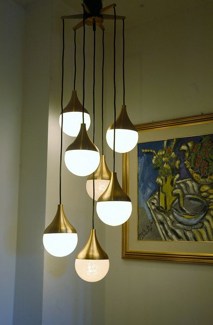 Danish Modern Light Fixture.