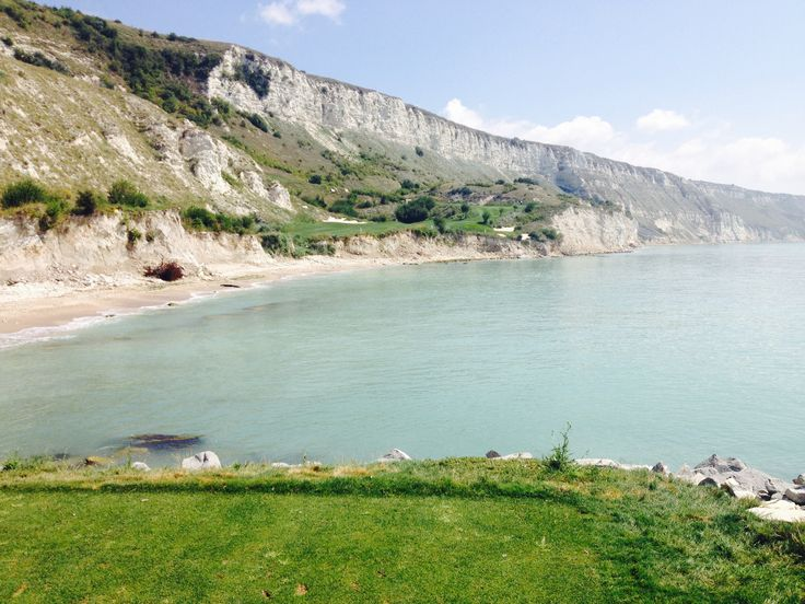 Thracian Cliffs, Bulgaria, 7th hole from the silver tee