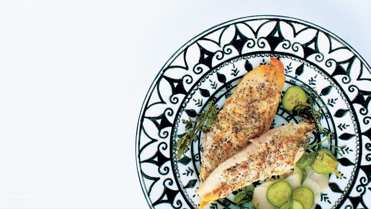 Tilapia en croûte de chia et parmesan