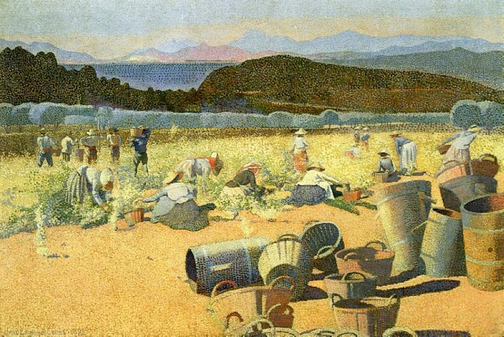 7.Grape Harvest Henri Edmond Cross