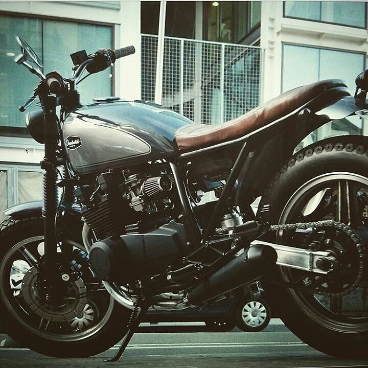 Seen by @overboldmotorco #bike #motorcycle #custom #handmade #kustom #kulture #scrambler #motorcycle #ride #ride_like_hell #saintmotors #saint_motors #instamoto #stocksucks #builtnotbought by...