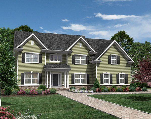 Distinctive Homes at Branchburg, NJ  3 New Homes Left on New Cul de Sac…