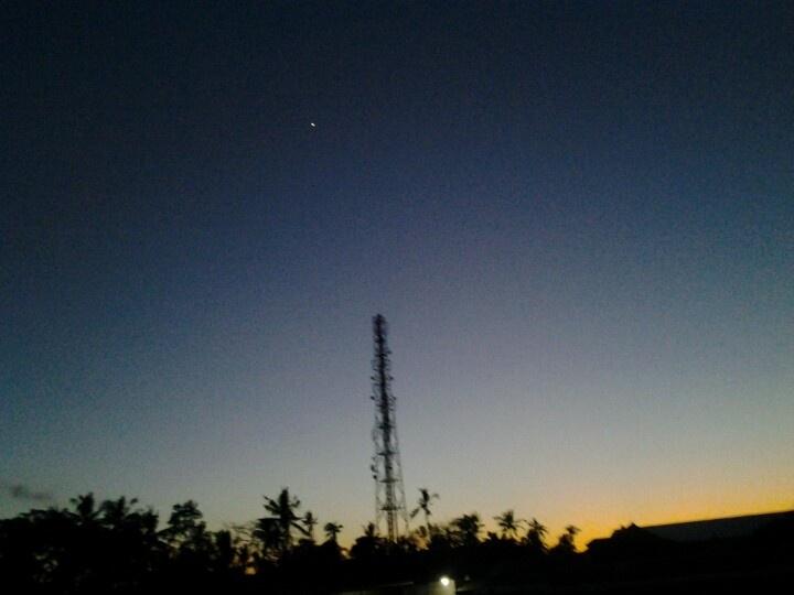Bali sky at morning...