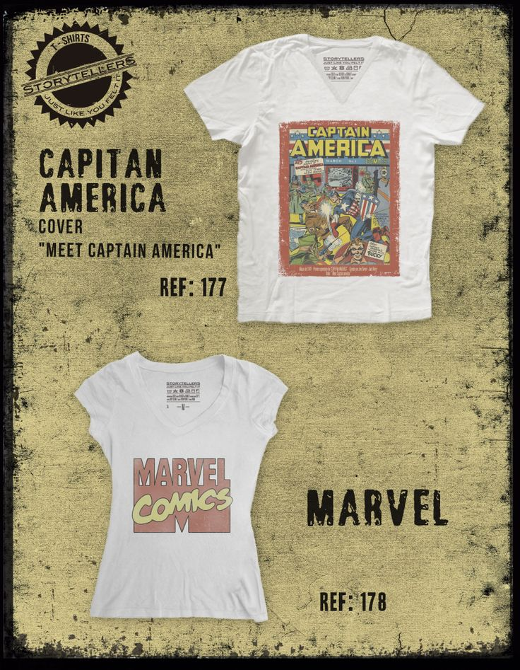 Capitan America, Marvel comics