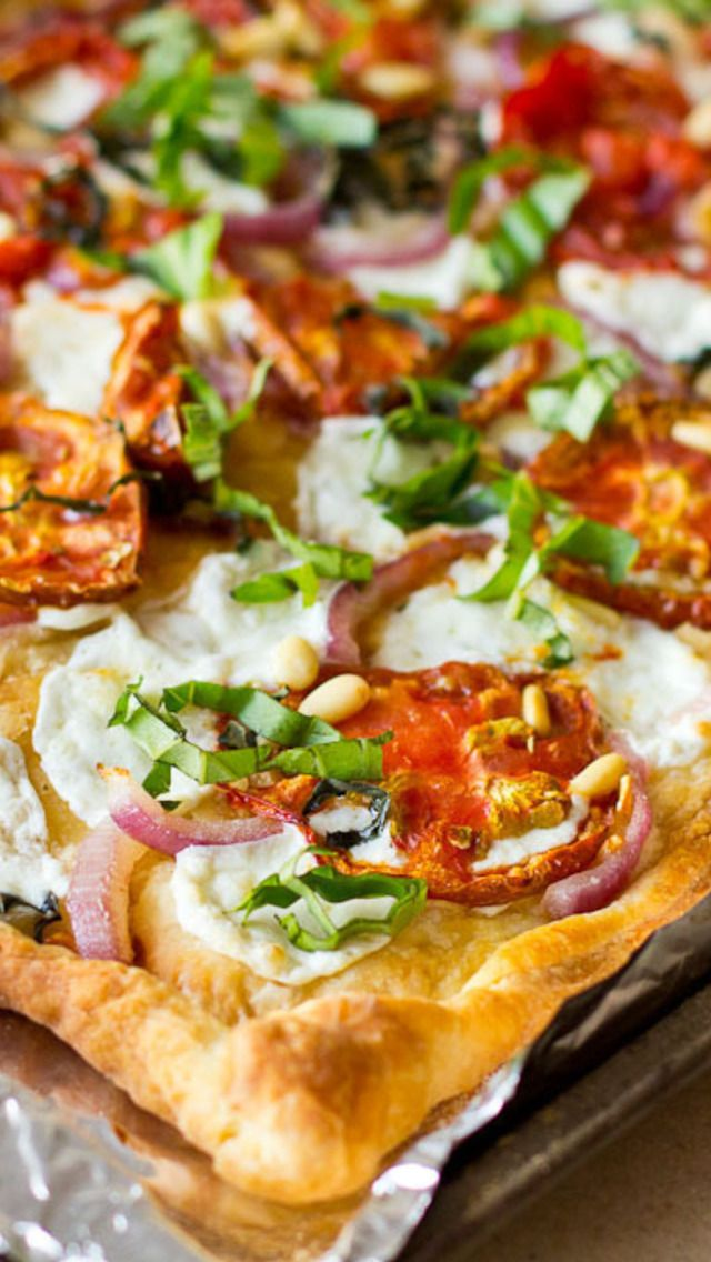 ... Pizza on Pinterest | White pizza, Pizza recipes and Grilled pizza