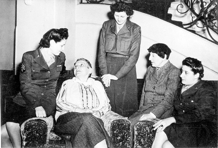 Gertrude Stein and Alice B. Toklas with WACS Photograph ...