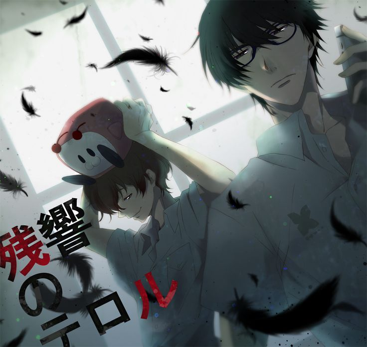 Aren't they the greatest team ever?! ^^ even better than team 7, haha *-* zankyou no terror