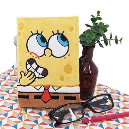 Spongebob stationary planner スポンジボブ2016手帳スケジュール帳2016年全身/ぬいぐるみファーカバー予定表週間A6ウィークリーキャラクター9月始まりデルフィーノ平成28年ダイアリー通販【メール便可】【あす楽】シネマコレクション