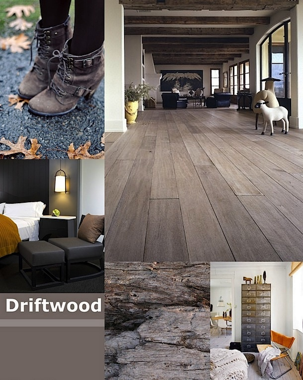 2012 color: Driftwood: a beige-grey blend. I guess I'm still lovin the past. because I love the versatility and character of this color group.