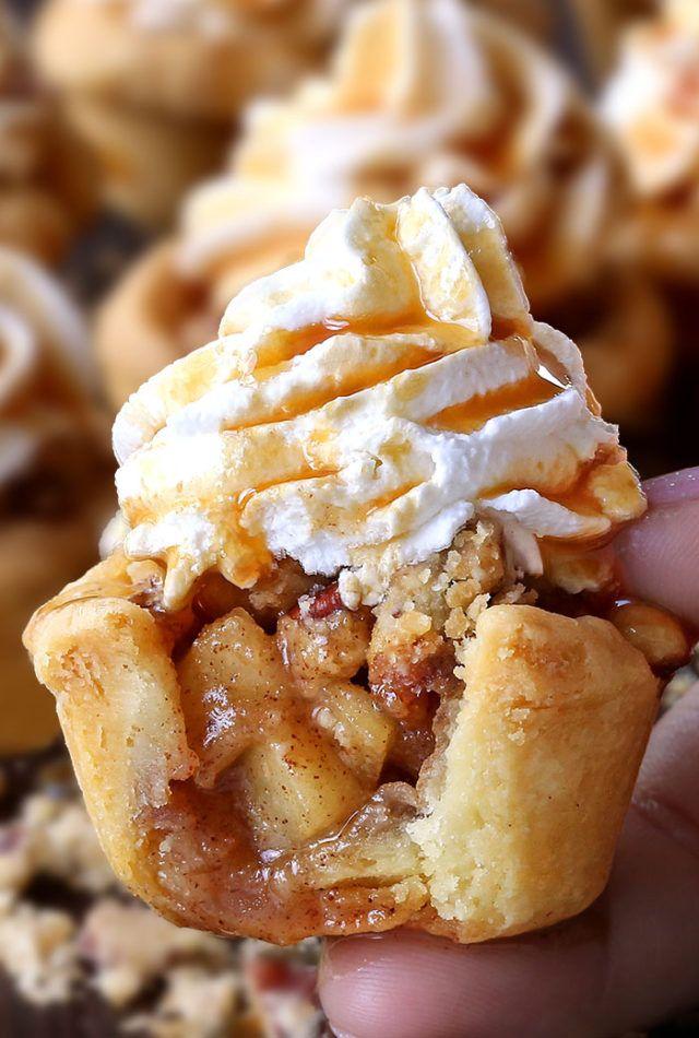 Cupcakes de torta de maçã   – Cake & Sweet stuff