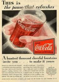 Google Image Result for http://funnytogo.com/pictures/cocacola/coca-cola-vintage-ads1.jpg                                              the pause that refreshes