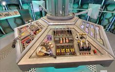 Google Maps Street View capture of the 2013 Tardis Console