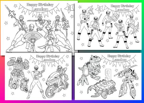 power ranger dino charge coloring pages power ranger by vsstudio - Power Rangers Dino Coloring Pages