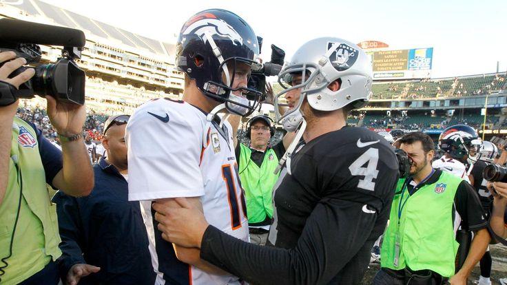 Love this! Derek Carr w/ Peyton  Manning.