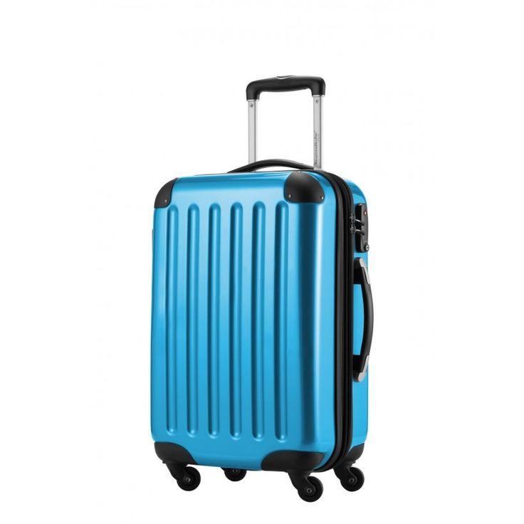 Alex - Handgepäck Hartschale Cyanblau glänzend, 55 cm, 42 Liter - Blaue #Reisetrolleys von #Hauptstadtkoffer.  #Hartschalenkoffer #Handgepäck #Cabinsize #Boardtrolley #blau #Rollkoffer #Trolley #Koffer #Travel #Luggage #Reisen #Urlaub #blue #bleu => mehr blaue #Reisekoffer: https://hauptstadtkoffer.de/de/reisegepack/alle-produkte