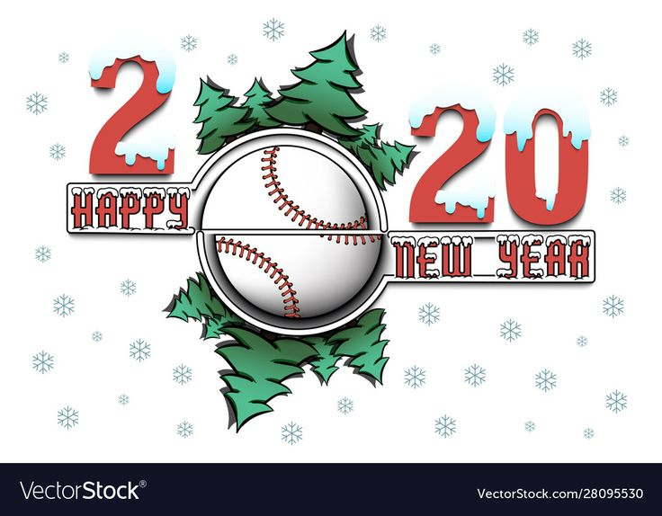 Pin by Colton Smith on Baseball Happy new year 2020