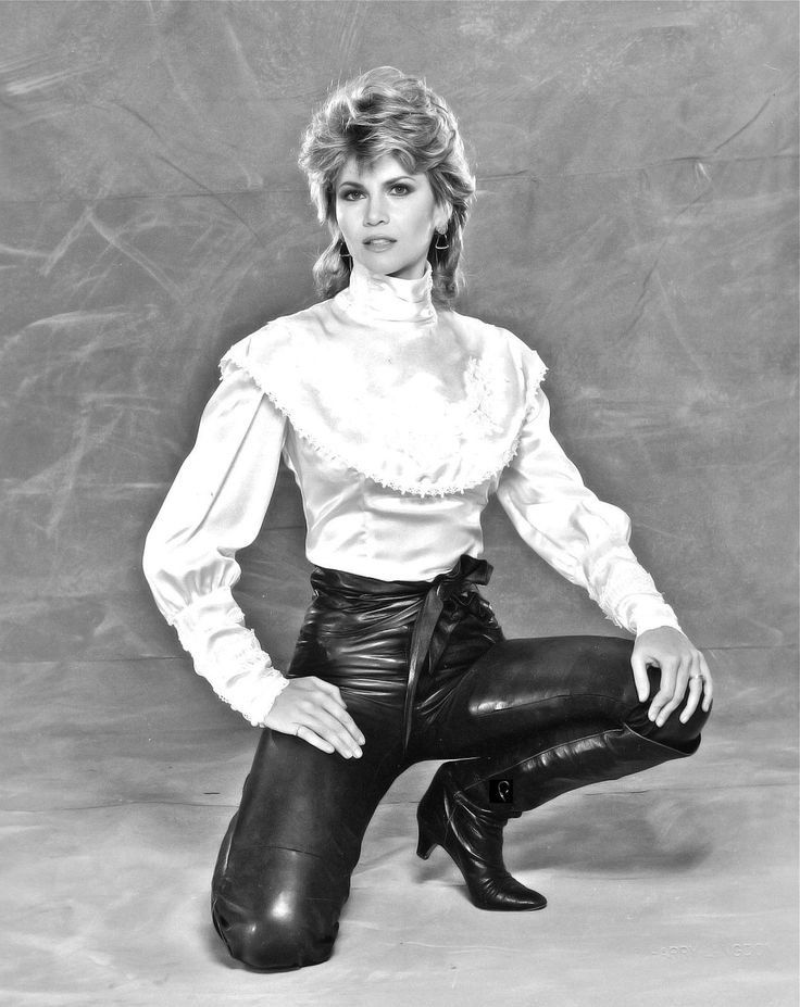Markie Post Of Night Court Fame Photo By Harry Langdon -1987