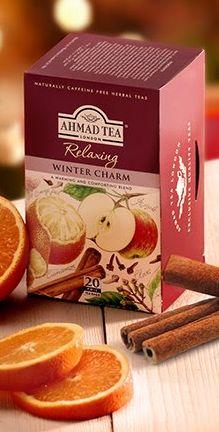 Enjoy a warm cup of Ahmad Tea! Use code AHHOL through 12/14 for 20% off all Ahmad tea!