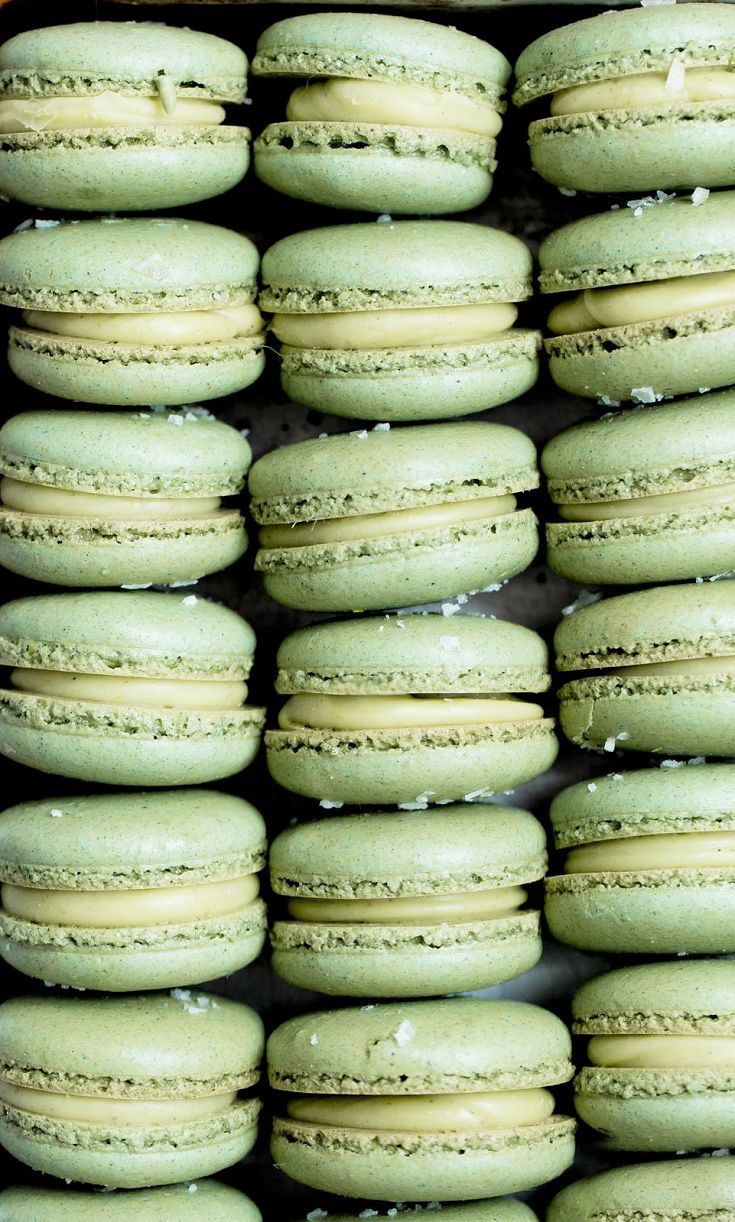 White Chocolate Pistachio Macarons Recipe