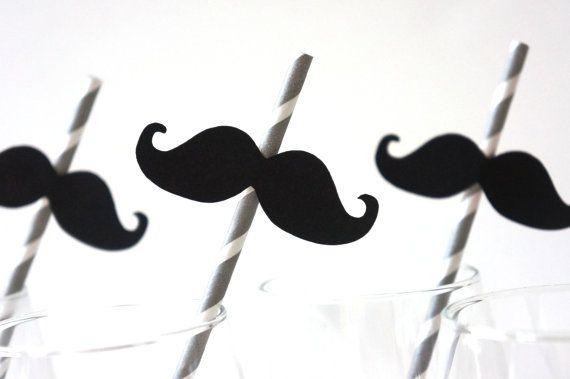 mustache straws! : Baby Blue, Photos Booths Props, Birthday Parties, Mustache Birthday, Grey Stripes, Paper Straws, Photos Props, Mustache Paper, Mustache Straws