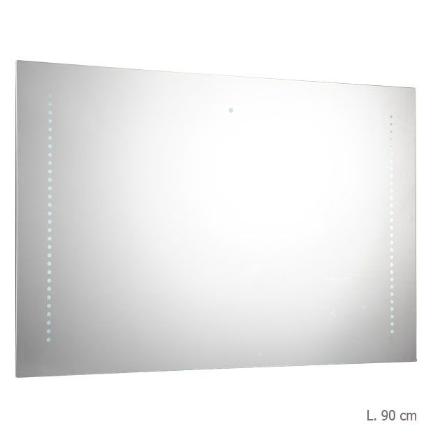 mod le evasion l 90 cm miroir led de salle de bain. Black Bedroom Furniture Sets. Home Design Ideas
