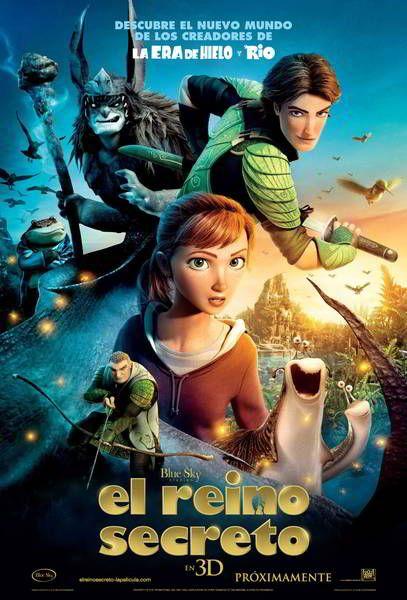 ver Epic El reino secreto 2013 online descargar HD gratis español latino subtitulada