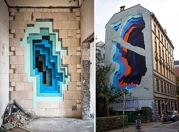Best Street Art Images On Pinterest Scenery Urban Art And - Clever free bird see graffiti spotted in chicago leads to a creative surprise
