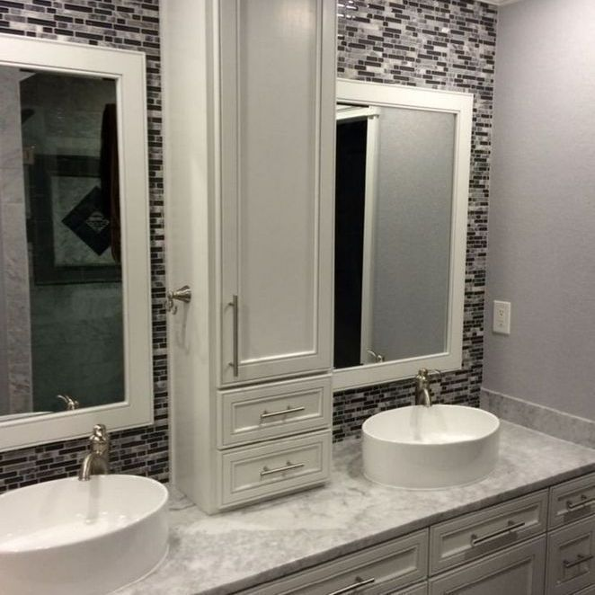 Double Bathroom Vanity Designs Ideas Locate This Pin As Well As More On Contemporary Enhanci Bathroom Vanity Designs Bathroom Remodel Master Stylish Bathroom