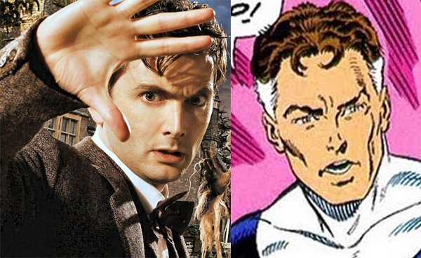 David Tennant On Potential CBM Roles; Name Drops FANTASTIC FOURs Reed Richards