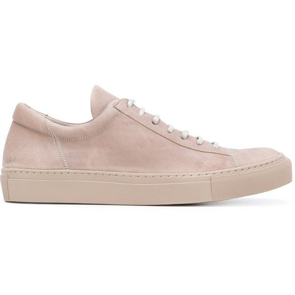 The Last Conspiracy Ana sneakers (360 AUD) ❤ liked on Polyvore featuring shoes, sneakers, brown, leather sneakers, brown leather trainers, leather trainers, leather footwear and brown sneakers