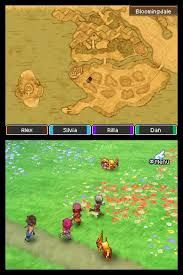 Dragon Quest 9 environment and map - important to consider making the environment similar to the map to allow players to easily learn their way around without confusion -> satisfaction