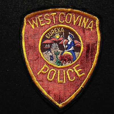 California - West Covina Police Department OLDER Patch / LAPD Sheriff LA County