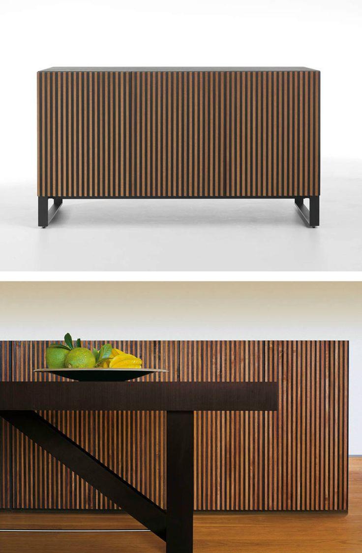 Wooden sideboard LEON by @hormdesign