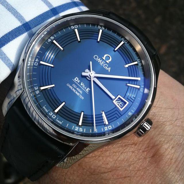 Fancy - Omega De Ville Hour Vision Watch | juwelier-haeger.de