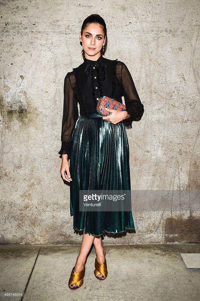 Miriam Leone in Gucci
