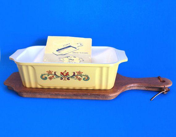 Nordic Ware Bread 'N Board  Vintage 70s Bake and by FunkyKoala