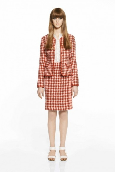 collette by Collette Dinnigan Red Gloria Jacket